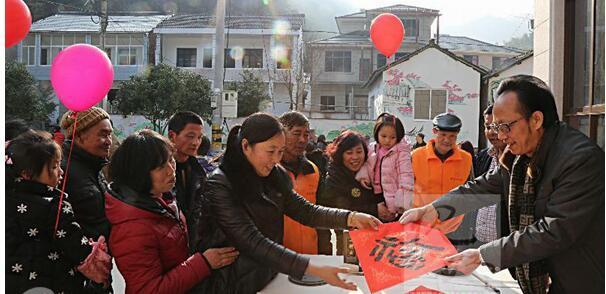 浙农林大学生寒假深入农村送文化、献爱心、长见识